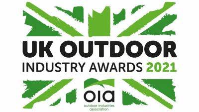 UK outdoor industry awards 2021 logo