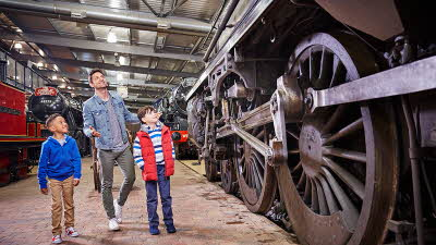 Offer image for: Severn Valley Railway - Save more than 10% when you buy a Freedom of the Line ticket for just £20 and enjoy unlimited, all-day travel including FREE entry into The Engine House Visitor Centre.
