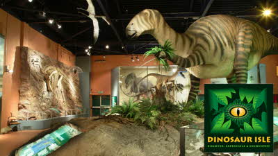 Offer image for: Dinosaur Isle - One free child when accompanied by one full paying adult