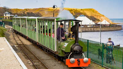 Offer image for: North Bay Railway & Attractions - Buy one get one free on day return tickets.
