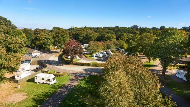 Abbey Wood Caravan and Motorhome Site | The Caravan Club