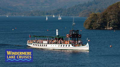 Offer image for: Windermere Lake Cruises - 10% discount on all scheduled sailings.