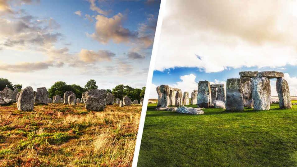 carnac stones and stonehenge