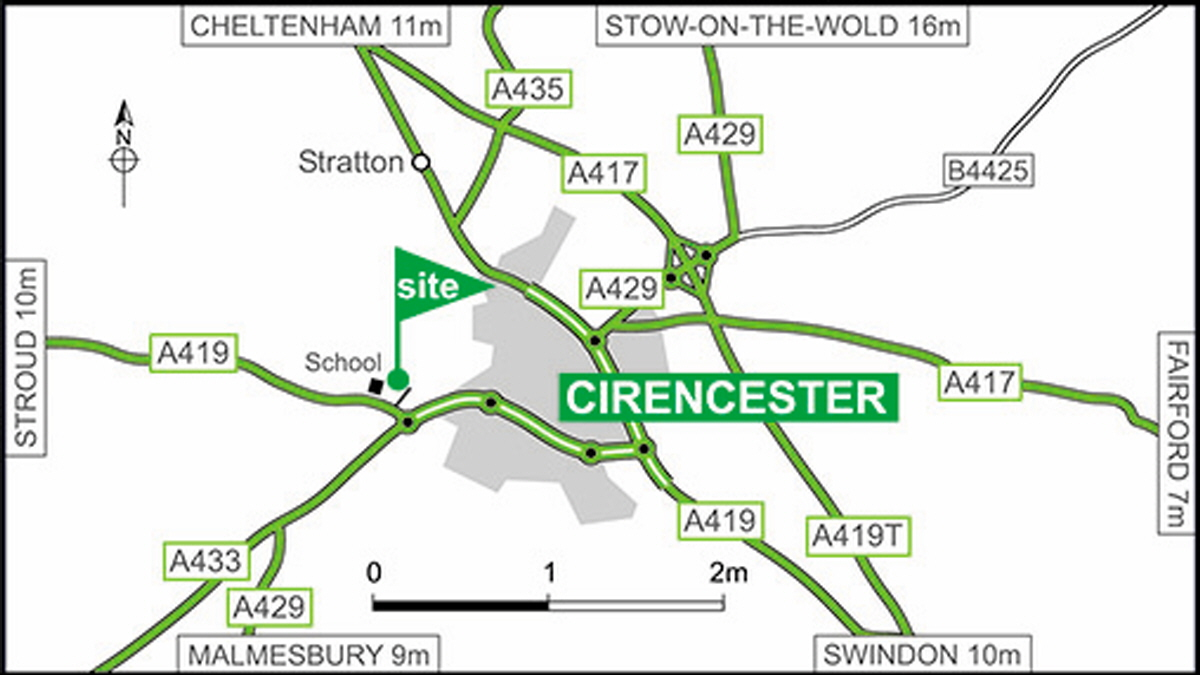 Cirencester Park Club Site The Caravan Trailer Wiring Colour Code Uk Directions