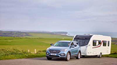 Caravan at beachy head