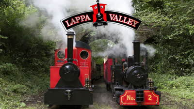 Offer image for: Lappa Valley Steam Railway - One free child when accompanied by two full paying adults
