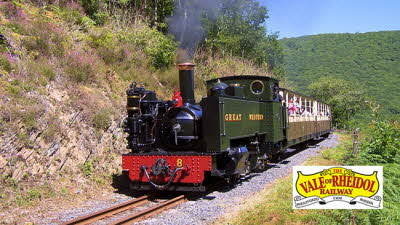 Offer image for: The Vale of Rheidol Railway - 10% discount on adult full line return tickets