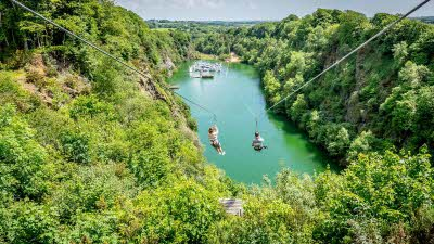 Offer image for: Adrenalin Quarry - £2.50 per person off The Zip or The Giant Swing