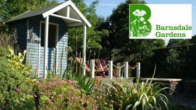 Offer image for: Barnsdale Gardens - Two for the price of one.