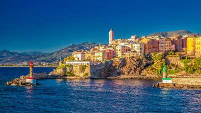 Bastia coastline