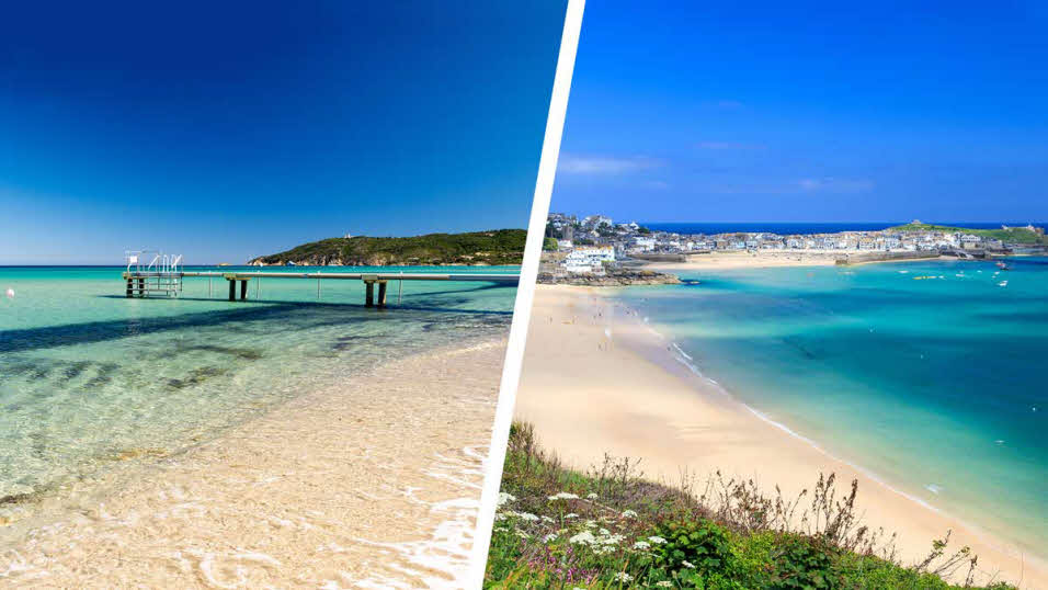 st tropez and st ives