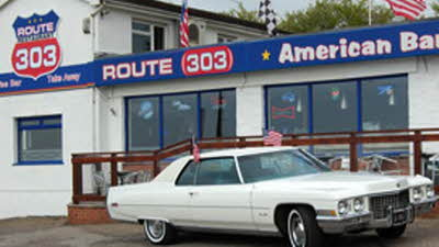 Offer image for: Route 303 - 10% off food only