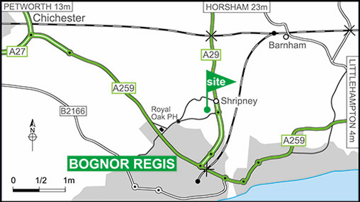 Rowan Park Club Site The Caravan Wiring Diagram Regis Within 05 Miles Past Shripney Village Turn Right At Second Roundabout On Dual Carriageway Into Way Entrance Is