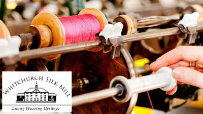 Offer image for: Whitchurch Silk Mill - Two for the price of one