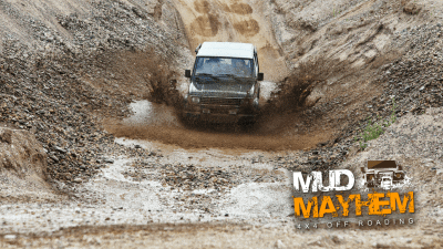 Offer image for: Mud Mayhem - Hockley Heath - 10% off for Members of the Caravan and Motorhome Club.