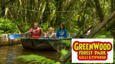 Offer image for: GreenWood Forest Park Ltd - One free child when accompanied by two full paying adults
