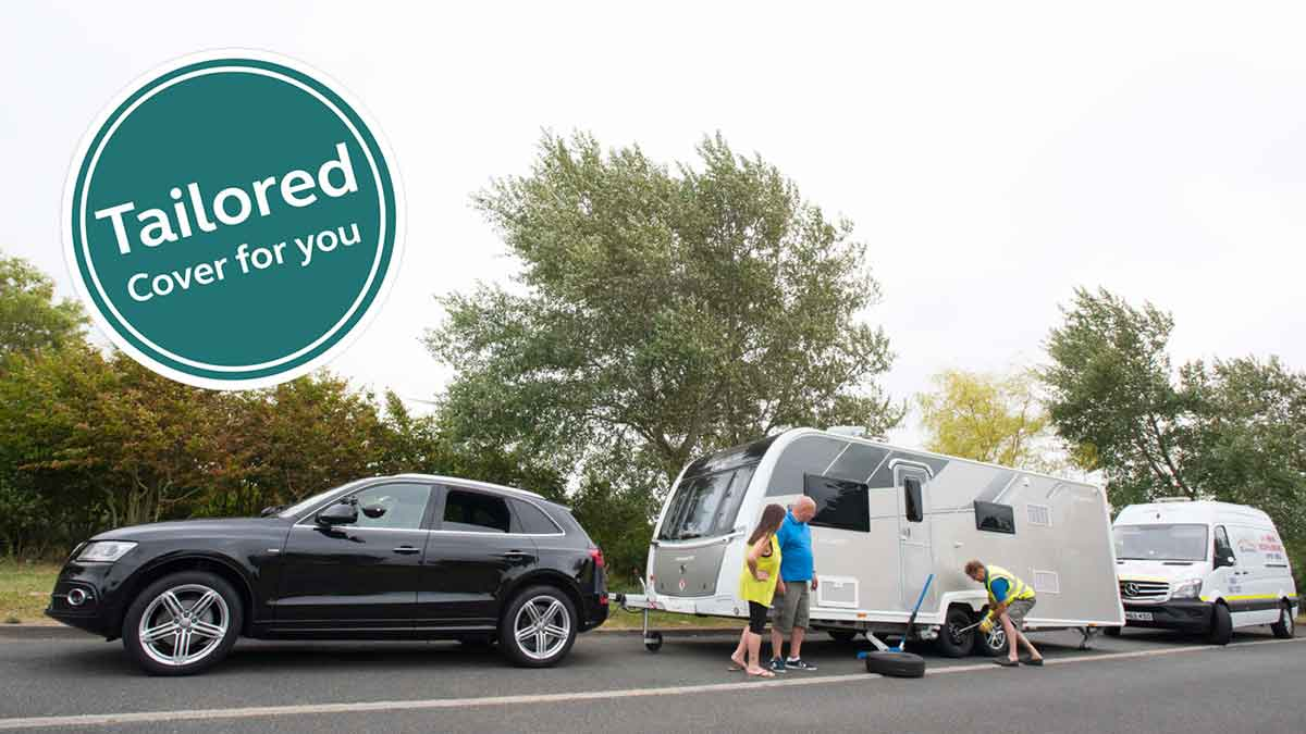 stay safe on the roads and keep moving with tailored car or motorhome or caravan insurance and mayday breakdown cover which is just one of the many benefits of membership with the caravan and motorhome club