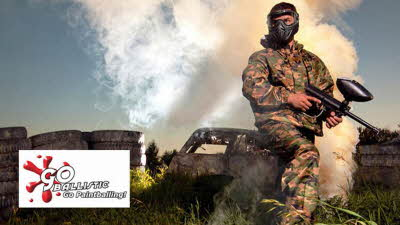 Offer image for: Go Ballistic Paintball - Bristol - 2 for 1 Entry and full equipment hire