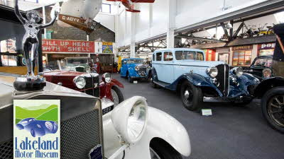 Offer image for: Lakeland Motor Museum - 10% discount on entry fee