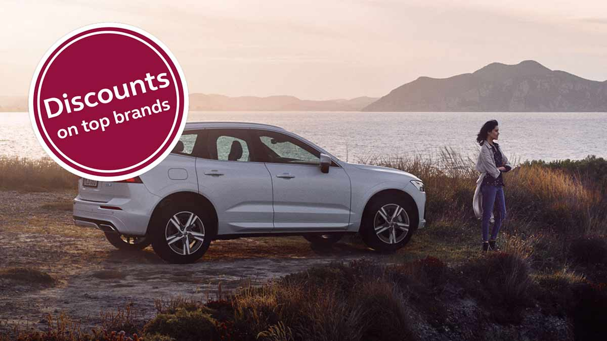 join the caravan and motorhome club and you gain access to hundreds of discounts on leading brands including volvo
