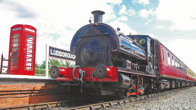 Offer image for: Lincolnshire Wolds Railway - One child goes free with a fare-paying adult on presentation of your CAMC membership card.