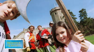 Offer image for: Warwick Castle - Two for the price of one