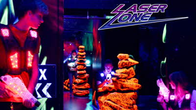 Offer image for: LaserZone (Castleford) - Two for the price of one.