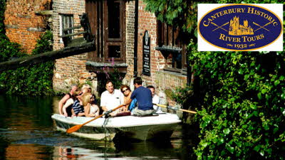 Offer image for: Canterbury Historic River Tours - £1.00 off standard tickets