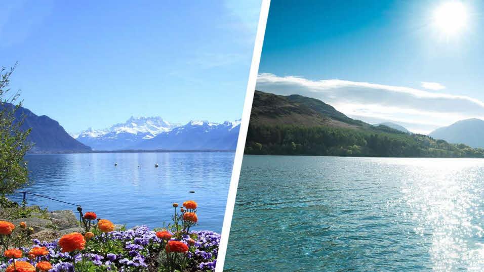 lake geneva and lake district