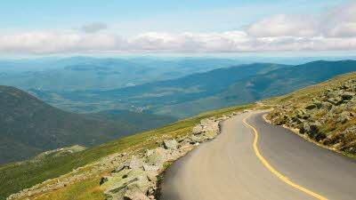 Mount Washington road view