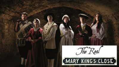 Offer image for: The Real Mary King's Close - One free child when accompanied by one full paying adult or senior