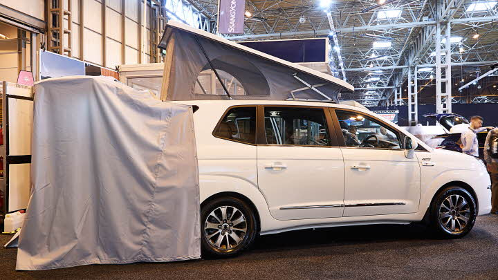 Motor Caravan Design Awards | The Caravan Club
