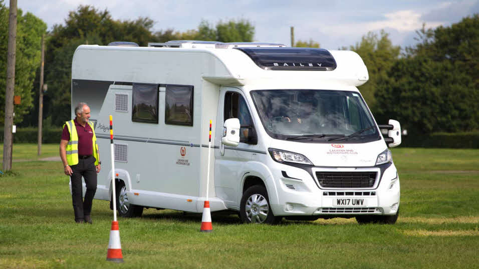 03075b2cd8 The Motorhome Manoeuvring Course builds confidence and covers everything a  motorhome driver really needs to know