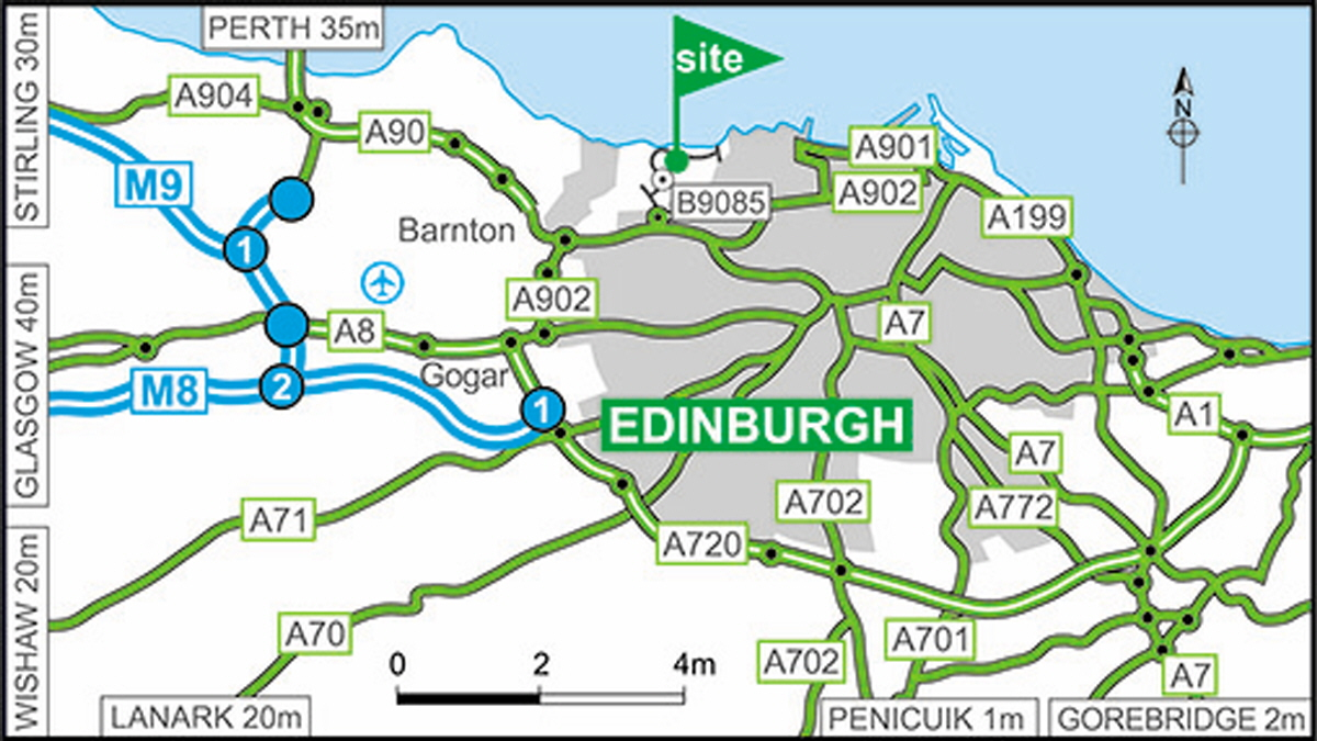 Edinburgh Caravan Motorhome Club Site The Caravan Club