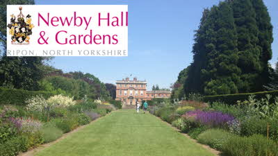 Offer image for: Newby Hall & Gardens - Two for the price of one.