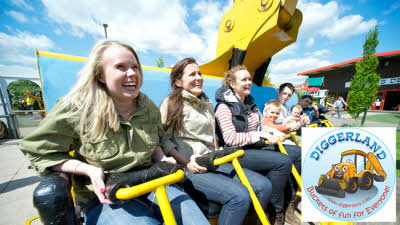 Offer image for: Diggerland (Castleford) - 25% off day pass entry ? code CAMC20