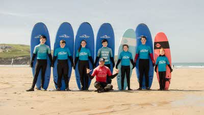 Offer image for: Fistral Beach Surf School - 20% discount on surf hire once you have had a lesson.
