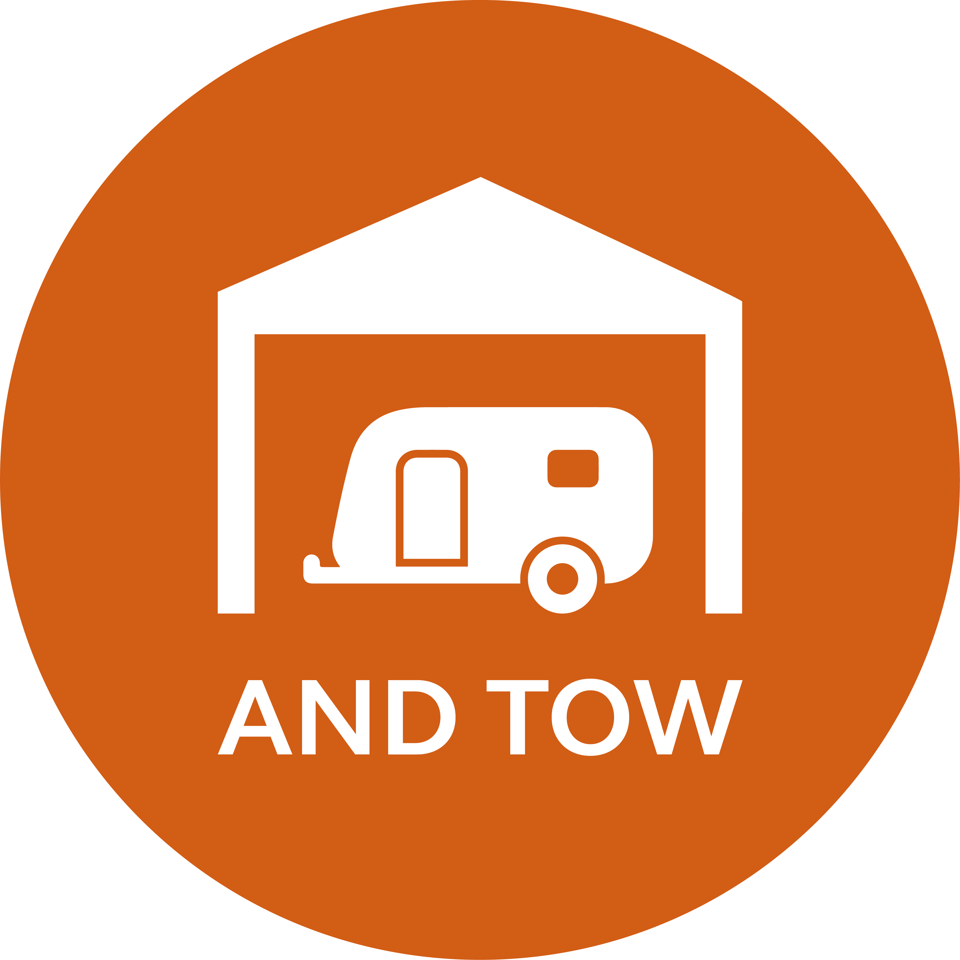 orange security camera icon