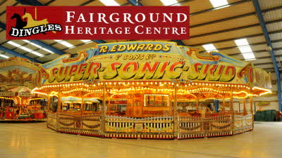 Offer image for: Dingles Fairground Heritage Centre - Two for the price of one