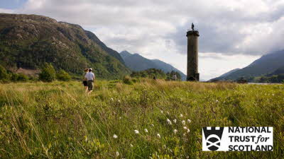 Offer image for: Glenfinnan Monument - One free child when accompanied by one full paying adult