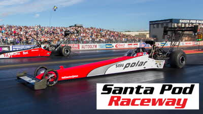 Offer image for: Santa Pod Raceway - 20% off selected events - Pre-booking required Valid only for multi day admission tickets. Offer starts 1 February 2020.