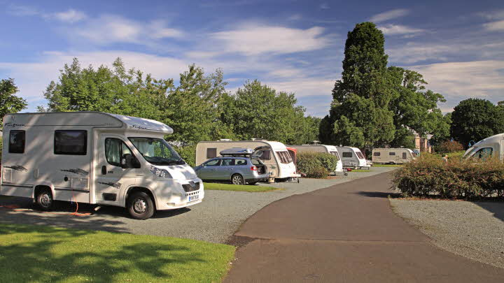 Edinburgh Caravan   Motorhome Club Site  9f582f1f395