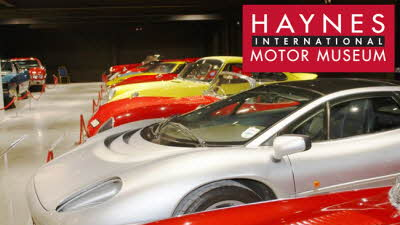 Offer image for: Haynes International Motor Museum - 10% discount off online bookings only