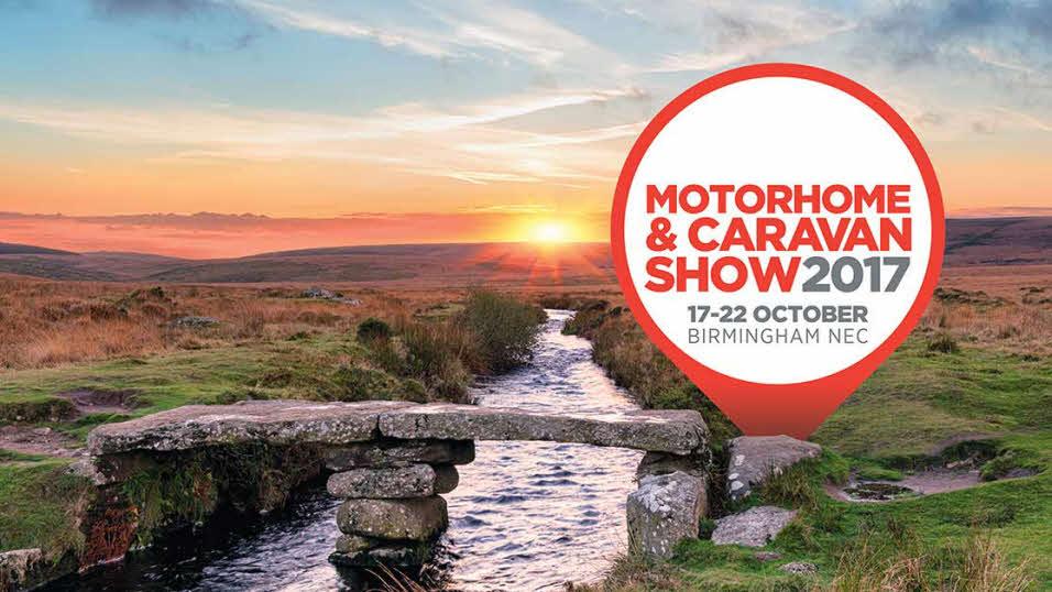 NEC October 2017 - Caravan & Motorhome Show