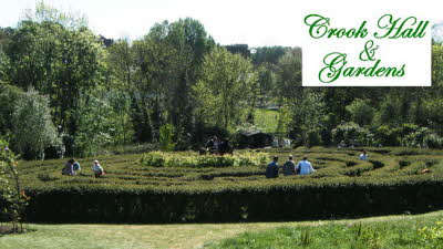 Offer image for: Crook Hall & Gardens - 10% discount on entry fee