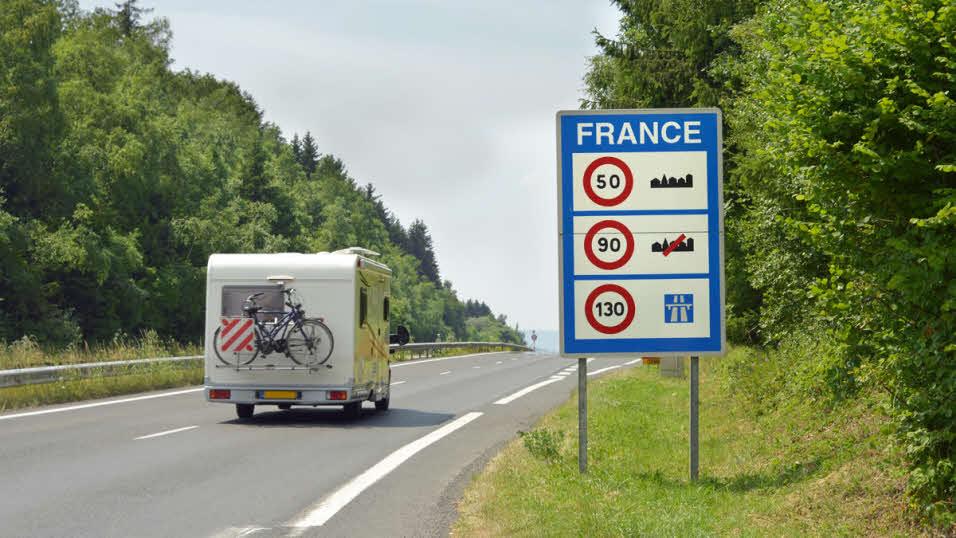 European speed limits | The Caravan Club