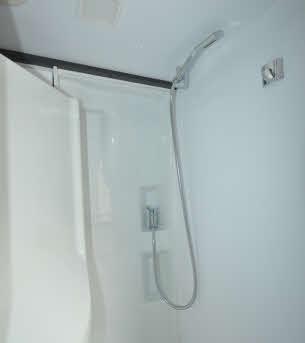 Dedicated shower area
