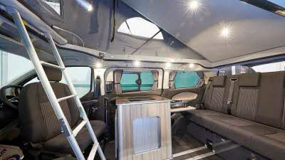 Lunar Campers Ford Tourneo