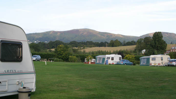 Malvern Hills Club Site   The Caravan Club