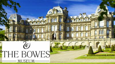 Offer image for: The Bowes Museum - Two for the price of one